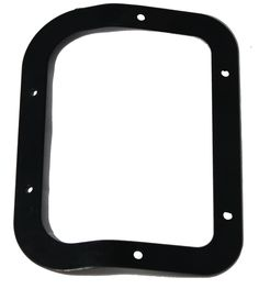 1980-86 JEEP CJ D300 MARINE GRADE VINYL TRANSFER CASE SHIFT BOOT BEZEL