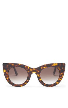 Orgasmy Sunglasses In Tortoise by Thierry Lasry