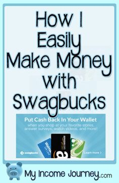 How I easily earn money with Swagbucks. Tips I use to make extra cash with very little time needed. Earn gift cards by watching videos, playing games, searching the internet, and more. Easy way to make money from home!