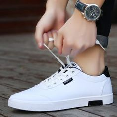 Men shoes 2019 new fashion casual students white board shoes men trend of breathable canvas s. - Men shoes 2019 new fashion casual students white board shoes men trend of breathable canvas s… Shoes 2018, Men's Shoes, Shoes Sneakers, Shoes Men, Shoes Sport, Canvas Sneakers, Dress Shoes, Footwear Shoes, Running Shoes