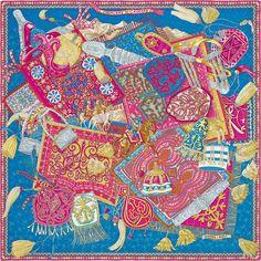 "36"" scarf Hermès | Cavaliers du Caucase"
