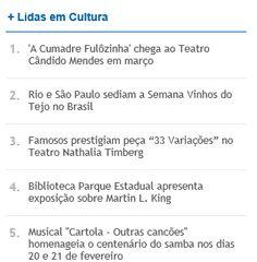 #cvrtejo #winesoftejo #vinhosdotejo CVR TEJO no Jornal do Brasil. Dentre as notícias mais lidas.