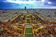 parc du Champ de Mars - Paris 7e