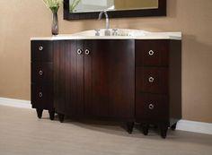 CAPRI Bathroom Vanity   • Understated elegant design   • Configurable to various sizes using the bridge components   • Matching mirrors available   • Birch veneer over solid Poplar