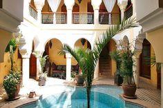 Riad Léna, Visitez Riad Léna - Patio jour - Riad, Riad Marrakech: Location de Riad et villa Marrakech, Riads Marrakech.