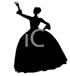 Royalty Free Clipart Image of a Fairy Tale Princess