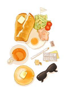 art and food image