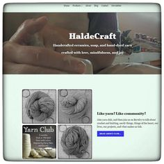 Psst! Haldecraft.com has had a little bit of a makeover -- going from gold to green and hopefully making things a little easier to navigate. The new look is live now and while hopefully everything is completely perfect if anything is wonky it's uh the fault of the Studio Cats. Ah-yup. That's my story.