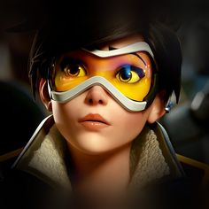 http://bit.ly/29fUBBz - AndroidPapers.co wallpapers - ar95-overwatch-tracer-england-game-art-illustration - Android, wallpaper