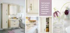 Lantliga badrummet Carl Larsson från Björbo Decor, Furniture, Home, Entryway, Home Decor