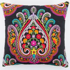 Pillow art by Swedish INDISKA  www.indiska.com