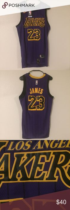 4260e1269a9c LeBron James Lakers All City Jersey · Brand new