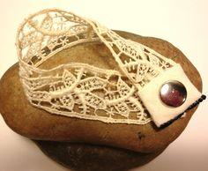 Items similar to Vintage Lace Bracelet, One-of-a-kind on Etsy Lace Bracelet, Lace Necklace, Bracelets, Vintage Lace, Vintage Style, Boho Fashion, Vintage Fashion, Champagne Taste, Boho Chic