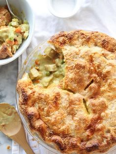 Curry Turkey Pot Pie With Homemade Butter Pie Crust | foodiecrush.com
