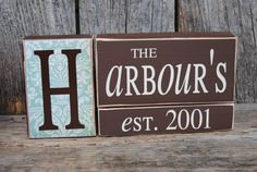 Personalized family last name established by stickwithmevinyl, $15.00