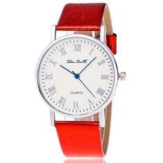 New Luxury Woman Watch Time Pattern Leather Band Quartz Vogue Dress sport Analog Casual Watch Relogio Feminino