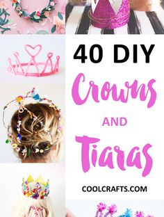 40 DIY Crowns and Tiaras - CoolCrafts.com