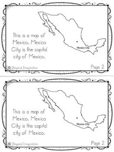 Mexico Country Study | 48 Pages for Differentiated Learning + Bonus Pages #Mexico #country #study #teacherspayteachers #social #studies #passport #postcards