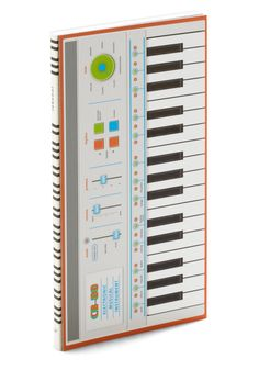Keyboard to Success Music Notebook. When you have a stroke of musical genius, jot down your inspiration in this music notebook from Chronicle Books! #multi #modcloth