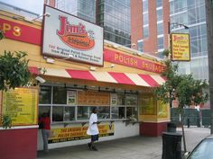 Jim's Original Hot Dog Chicago, IL Need to try the Mother in Law