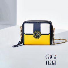 Tommy Hilfiger Saffiano Crossover Bag Gigi Hadid - freesia colourblock (Bruin) - Tommy Hilfiger Crossover Tassen - detailbeeld 0
