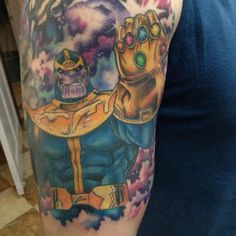 This Guy Is Covered In Awesome Marvel Tattoos