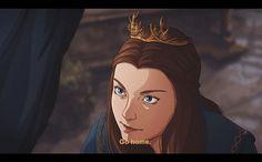 Here's the proof Game of Thrones would make a great animated series High Fantasy, Medieval Fantasy, Fantasy Art, Game Of Thrones Funny, Game Of Thrones Art, Jon E Daenerys, Daenerys Targaryen, Got Anime, I Love Games