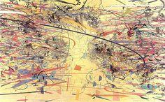 Julie Mehretu - Dispersion - 2002 by The Black Hole Kids, via Flickr
