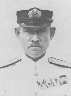 Japanese admiral Shigeyoshi Inoue - As with Yamamoto, he was a strong proponent of naval aviation and  He was highly critical of the Navy's shipbuilding programme, with its emphasis on battleships over aircraft carriers.he served on the battleship Mikasa, the cruiser Kasuga.the cruiser Kurama and the battleship Fusō.before the Battle in the Coral Sea Inoue was not in any combat situations