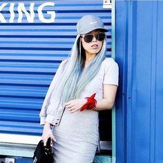 The stylish babe @aikaslovecloset wearing our Alex shades ✨😎 #noweekendsbabe