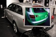 Explore the inside part of your car with Augmented Reality thanks to metaio.