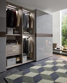Cool German perfectionism and Italian Interior Design from livareade Let plan your wardrobe from livareade