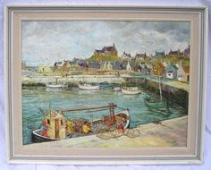 """Findochty Harbour"" by James Selbie"