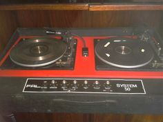 What and when was the first twin deck DJ console ?
