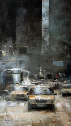 """Ricardo Galan Urrejola, """"Taxis"""", 2012"""
