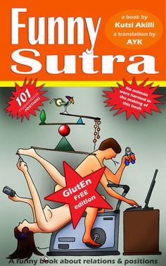 Funny Sutra Book -  Gluten Free Edition cover400x640