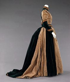 Afternoon Dress, 1885