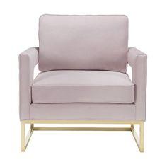 Willa Arlo Interiors Aloisio Armchair Upholstery: Mauve