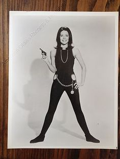 "DIANA RIGG c.1960s ""The Avengers"" publicity photo"