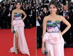 Freida Pinto In Michael Angel - 'Moonrise Kingdom' Cannes Film Festival Premiere & Opening Ceremony