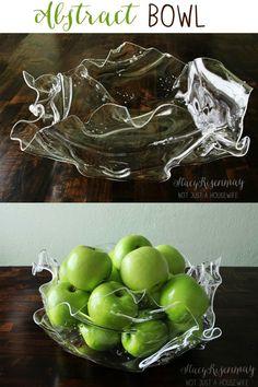DIY abstract bowl