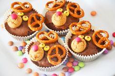 Rudolph Muffins / Kindermuffins / Kindergeburtstag / Rezept auf meinem Blog www.amotherslove.de