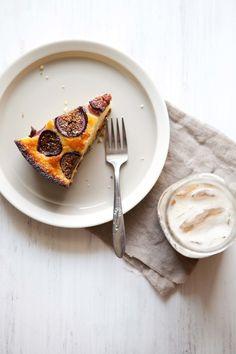 Fresh fig cornbread - Five And Spice