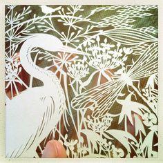 Onvoorstelbaar mooie Geertje Aalders knipkunst