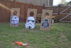Star Wars Target Practice - Star Wars Party Ideas