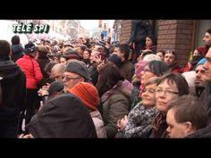 Cortège du Carnaval de Mardi à Binche 17-02-2015 (2) Télé SPI