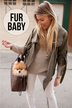 Fur Baby Outfit Post  Louis Vuitton Neverfull Tote / Louis Vuitton Loafers / Winter Whites / Pomeranian