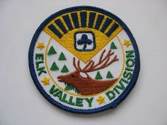 Girl Guides of Canad Elk Valley Division patch. #GGC #Girl_Guides #patches