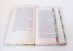 """Büchertaschen - Buchhülle """"Sternchen"""" - ein Designerstück von jamata bei DaWanda"""