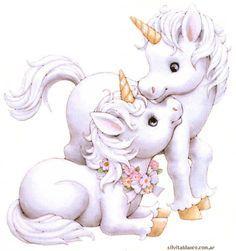 Unicornios ORIGINALES DE RUTH MOREHEAD láminas tamaño grande hermosas y excelente calidad para descargar